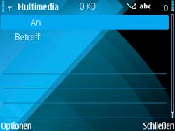 Nokia E71 - MMS - Erstellen und senden - Schritt 9