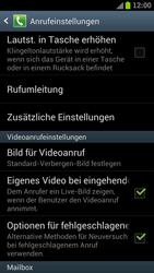 Samsung I9300 Galaxy S III - Anrufe - Rufumleitungen setzen und löschen - Schritt 5