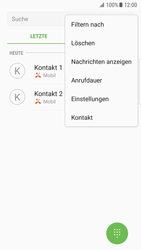 Samsung Galaxy S7 Edge (G935F) - Android Nougat - Anrufe - Anrufe blockieren - Schritt 5