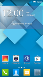 Alcatel Pop C7 - Internet e roaming dati - Disattivazione del roaming dati - Fase 1