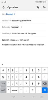 Huawei p20-dual-sim-model-eml-l29-android-pie - E-mail - Bericht met attachment versturen - Stap 9