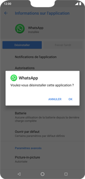 Nokia 7.1 - Applications - Supprimer une application - Étape 8