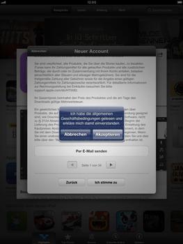 Apple iPad mini - Apps - Konto anlegen und einrichten - 11 / 21