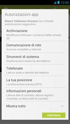 Alcatel One Touch Idol - Applicazioni - Installazione delle applicazioni - Fase 9