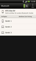 HTC One SV - Bluetooth - Verbinden von Geräten - Schritt 6