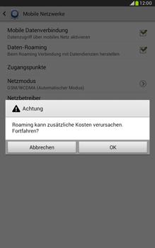 Samsung N5100 Galaxy Note 8-0 - Ausland - Im Ausland surfen – Datenroaming - Schritt 9