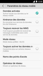 Huawei Ascend G6 - Réseau - Changer mode réseau - Étape 5