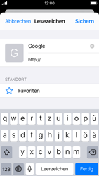 Apple iPhone SE - iOS 13 - Internet und Datenroaming - Verwenden des Internets - Schritt 7
