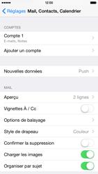 Apple iPhone 6 - E-mail - Configuration manuelle - Étape 17