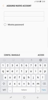 Samsung Galaxy Note 8 - E-mail - configurazione manuale - Fase 8