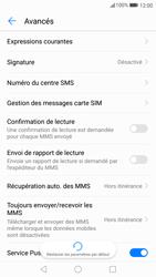 Huawei P10 - SMS - Configuration manuelle - Étape 9