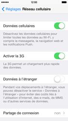 Apple iPhone 5c - Internet - activation du roaming de données - Étape 4