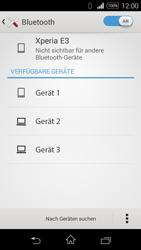 Sony D2203 Xperia E3 - Bluetooth - Geräte koppeln - Schritt 8
