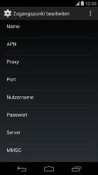 LG D821 Google Nexus 5 - MMS - Manuelle Konfiguration - Schritt 9