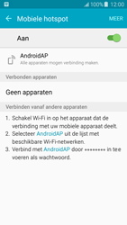 Samsung J500F Galaxy J5 - WiFi - Mobiele hotspot instellen - Stap 11