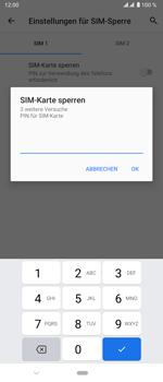 Sony Xperia 5 - Startanleitung - So aktivieren Sie eine SIM-PIN - Schritt 9