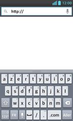 LG E460 Optimus L5 II - Internet - Navigation sur Internet - Étape 4