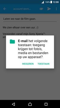 Sony Xperia Z5 Premium - Android Nougat - E-mail - e-mail versturen - Stap 10