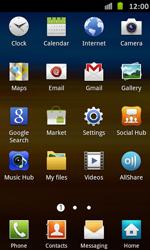 Samsung Galaxy S II - Apps - Einrichten des App Stores - Schritt 3