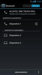 Alcatel One Touch Idol - Bluetooth - collegamento dei dispositivi - Fase 9