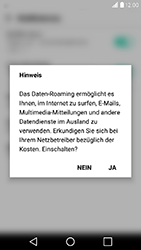 LG X Power - Ausland - Im Ausland surfen – Datenroaming - 1 / 1