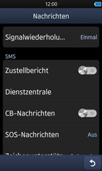 Samsung Wave 3 - SMS - Manuelle Konfiguration - 5 / 9
