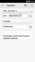 Huawei Ascend Y550 - e-mail - hoe te versturen - stap 8