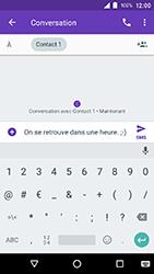 Crosscall Action X3 - Contact, Appels, SMS/MMS - Envoyer un SMS - Étape 8