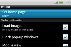 HTC A810e ChaCha - Internet - Manual configuration - Step 14