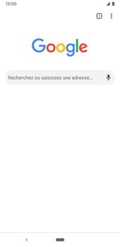 Google Pixel 3a - Internet et connexion - Naviguer sur internet - Étape 6