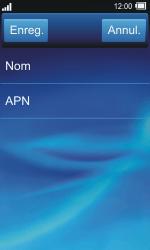 Sony TXT Pro - Internet - Configuration manuelle - Étape 9