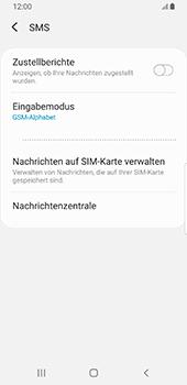 Samsung Galaxy S9 - SMS - Manuelle Konfiguration - 10 / 11