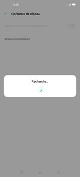 Oppo Find X2 - Réseau - Sélection manuelle du réseau - Étape 10
