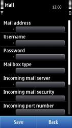 Nokia N8-00 - E-mail - Manual configuration - Step 10