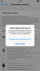 Apple iPhone 8 - WiFi - WiFi hotspot instellen - Stap 7