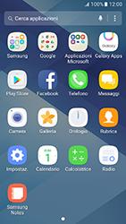 Samsung Galaxy A3 (2017) - Applicazioni - Configurazione del negozio applicazioni - Fase 3