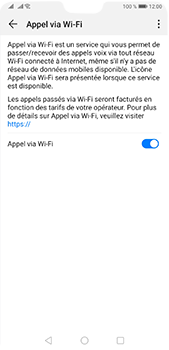Huawei P20 Pro - Android Pie - WiFi - Activez WiFi Calling - Étape 9