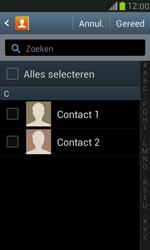 Samsung I8190 Galaxy S III Mini - Contacten en data - Contacten kopiëren van SIM naar toestel - Stap 7