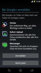 Sony Xperia Z1 - Apps - Konto anlegen und einrichten - Schritt 16