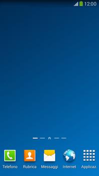 Samsung Galaxy Note III LTE - Operazioni iniziali - Installazione di widget e applicazioni nella schermata iniziale - Fase 11