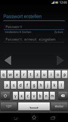 Sony Xperia V - Apps - Einrichten des App Stores - Schritt 11