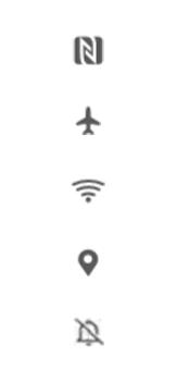 Huawei Nova 5T - Premiers pas - Comprendre les icônes affichés - Étape 25