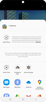 Samsung Galaxy S20 Ultra - Photos, vidéos, musique - Créer une vidéo - Étape 17