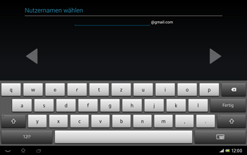 Sony Xperia Tablet Z LTE - Apps - Konto anlegen und einrichten - Schritt 9