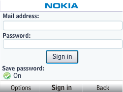 Nokia Asha 302 - Email - Manual configuration - Step 6