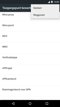 Motorola Moto X Style - Internet - Handmatig instellen - Stap 16