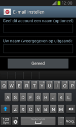 Samsung I9105P Galaxy S II Plus - E-mail - handmatig instellen - Stap 17