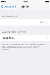 Apple iPhone 4S iOS 9 - E-mail - handmatig instellen - Stap 18