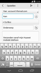 Huawei Ascend P7 - E-mail - hoe te versturen - Stap 5