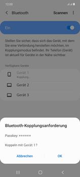 Samsung Galaxy Note 20 5G - Bluetooth - Verbinden von Geräten - Schritt 8